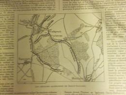 Guerre 1914 1918 Semaine Militaire Du   12 Au 19 Octobre  SAILLY-SAILLISEL  RANCOURT - Old Paper