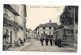 Montluel Arrivee Du Tramway - Montluel
