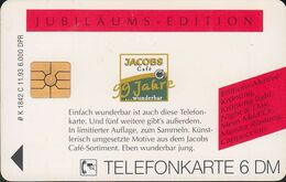 GERMANY K1842c/93 Jacobs Cafe - Jubiläums- Edition - Krönung Light - Deutschland