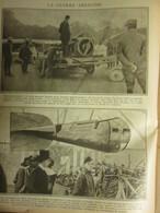 Guerre 14 18  Expostion Des Zeppelins Abattus à Londres à  FINSBURY  1916  WAR 1914 1918 - 1914-18