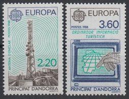 1988Andorra Fr390-391Europa Cept7,00 € - 1988