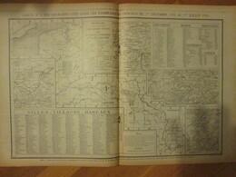 GUERRE 14-18   Carte Des Lieux Dits Cités  Dans Les Communiqués  1915 Et 1916 - 1914-18