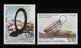 Andorre - YV 423 & 424 N** Serie Artistique Cote 6 Euros - French Andorra