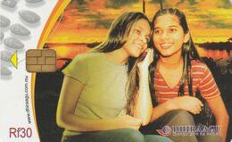 Maldives, 2MLDGIM, Two Girls, 2 Scans - Maldiven