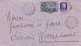 Roccapiemonte Frazionario 57-169 Del 1931 - Storia Postale