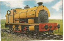 CPSM ,Th.Transp,N°6-04-64-97 ,0-6-0 Saddle Tank Loco, N°5 ,Built 1939, North Norfolk,Railway ,Sherringham,Ed. J. Salmon - Trenes