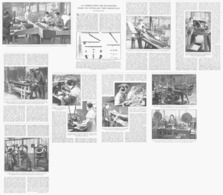 """LA FABRICATION DES  """" PARAPLUIES """"  1922 - Altri"""