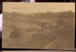 Cpa Quenast Locomotive  1931 - Rebecq