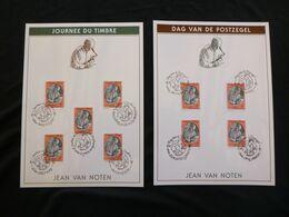 "BELG.1992 2451 Filacards : "" Dag Van De Postzegel / Journée Du Timbre "" - 1991-00"