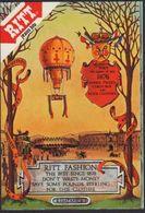 Stikers Ritt Jeans Blu Paris Abbigliamento Mongolfiera Clothing Hot Air Balloon Habillement Montgolfière FAS00056 - Sammelbilder, Sticker