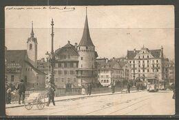 Carte P De 1908 ( Lucerne / Envoi De  Dielsdorf ) - LU Lucerne