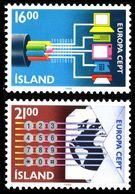 1988Iceland682-683Europa Cept4,00 € - 1988