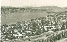Horgen 1959; Horgen Mit Säntis. Panorama - Gelaufen. (Rud. Suter - Oberrieden) - ZH Zurich
