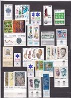 ISRAEL1973-1978 19 MNH Sets Between SG 543 - 732/733 all With Tab - Israel