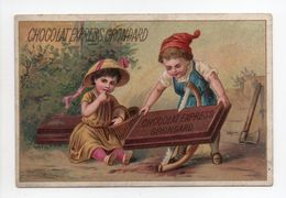 - CHROMO CHOCOLAT EXPRESS GRONDARD - PARIS - - Chocolat