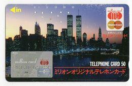 JAPON TELECARTE MASTERCARD NEW YORK - Advertising