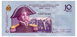 HAITI 10 GOURDES 2016 Pick 272h Unc - Haiti