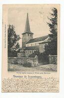 Weris Vieille église Romane Carte Postale Ancienne Barvaux - Durbuy