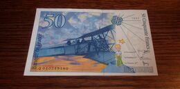 Billet De 50 Francs - Antoine De Saint-Exupéry - 1997 - Billets