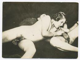 DC535 Photographie Vintage Charme Nue Femme érotisme Nude Risque Nu Woman Snapshot AKT FKK érotique - Weiblicher Akt (1941-1960)