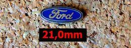 Pin's FORD Logo En émail - 21mm - édité Par COURTOIS - Ford