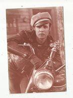 Cp, Spectacle ,artiste, MARLON BRANDO , Ed. The Ludlow Collection , Vierge ,moto - Artistes