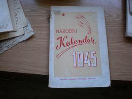 Narodni Kalendar 1945 Slobodna Vojvodina Novi Sad - Slavische Talen
