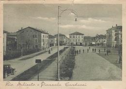 Emilia Romagna - Reggio Emilia - Rio Saliceto - Piazzale Carducci  - F. Grande - Viagg - Anni 30 - Molto Bella  Danneggi - Other Cities