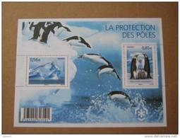 2009   F4350  * *   YT 4350/4351   BLOC LA PROTECTION DES POLES - Mint/Hinged