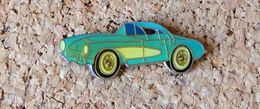 Pin's Chevrolet Corvette Bleue - Verni époxy - Fabricant Inconnu - Pin's & Anstecknadeln
