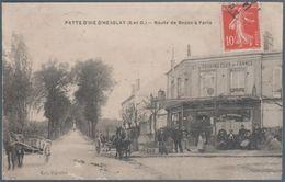 Patte D' Oie D' Herblay , Route De Bezon à Paris , Restaurant Société Du Touring Club De France , Animée - Francia