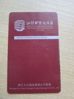 Shangtou International Hotel, Edge With Damages - Chiavi Elettroniche Di Alberghi