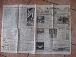 LE JOURNAL DU 28 JUILLET 1939 L'ETAPE BRIANCON-ANNECY DU TOUR DE FRANCE,PAS DE GUERRE CET ETE.....M.MOLOTOV RECOIT LES A - Newspapers