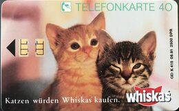 ALLEMAGNE  -  Cats  -  Whiskas  -  40 DM - Deutschland