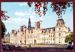 PARIS (75) L'HOTEL DE VILLE ET PLACE ANIMÉE - Other Monuments