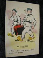 CPA - Illustrateur :Godreuil - Les Corvée - Poteau Pousser Patates - 1934 - SUP (DO 79) - Altre Illustrazioni