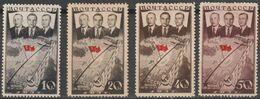 1938 :-: 1er Raid Aèrien Transpolaire Moscou- Portland (Etats-Unis) - Série Complète Neuve * - - 1923-1991 USSR