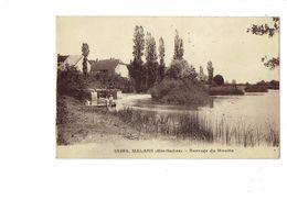 Cpa - 70 - MALANS - BARRAGE DU MOULIN - N° 18292 C.L.B. - - 1934 - - France