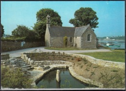 56  SAINT-PHILIBERT   La Chapelle Au Bord De L'anse  CPM  Postée Le 7 4 1989 à 56 LARMOR BADEN - Frankreich