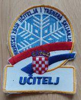 Učitelj Skijanja, Hrvatski Zbor Učitelja I Trenera Skijanja, Ski Teacher, Croatian Association Of Ski Teachers PATCH - Sport Invernali