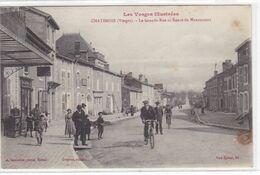 Vosges - Chatenois - La Grande-Rue Et Route De Mannecourt - Chatenois