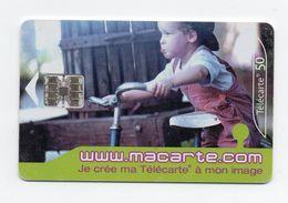 "Télécarte ""www.macarte.com"" - Telefonkarten"