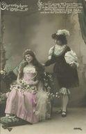 """AK Liebespaar Prinz Erweckt Schlafendes """"Dornröschen"""" ~1920 #53 - Couples"""