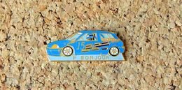 Pin's Peugeot 205 GTI - P. BONJOUR - Email - Fabricant LVK CREATIONS - Peugeot
