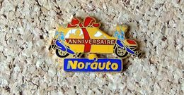 Pin's Peugeot 205 - 4 Portes - Anniversaire Norauto - Email - Fabricant Inconnu - Peugeot