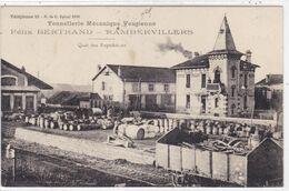 Vosges - Tonnellerie Mécanique Vosgienne - Félix Bertrand - Rambervillers - Quai Des Expéditions - Rambervillers