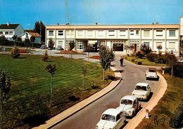 St Nazaire * Le Centre Hospitalier * Hôpital * Vue Sur L'entrée Prise Des Jardins * Automobiles Anciennes - Saint Nazaire