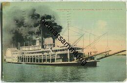 Illinois - East St. Louis - Mississippi River Steamer - Autres