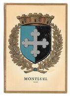 ( 01 ) MONTLUEL ARMOIRIES BLASON - Montluel