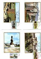 Serie Nº 2439/42 Hispanidad Tarjeta Maxima - Tarjetas Máxima